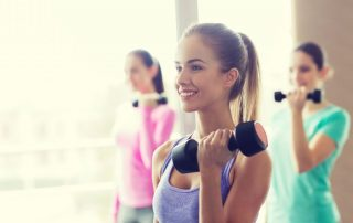 Jonge vrouwen fitness