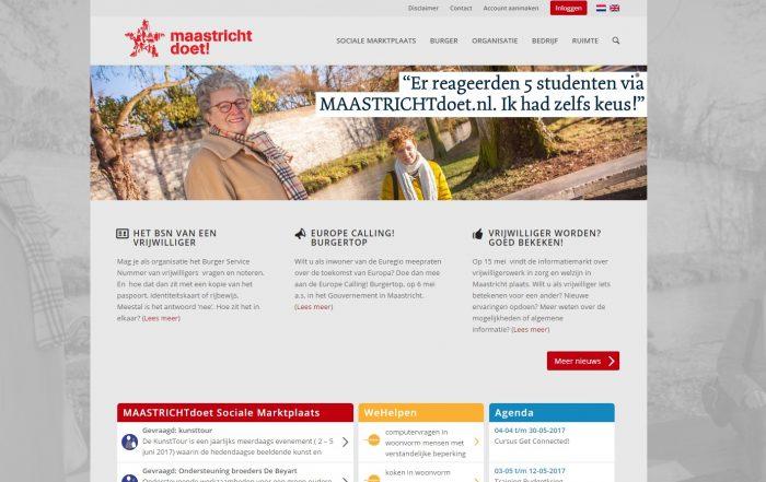 Website MaastrichtDoet.nl