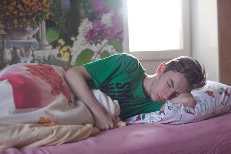 puber slapen