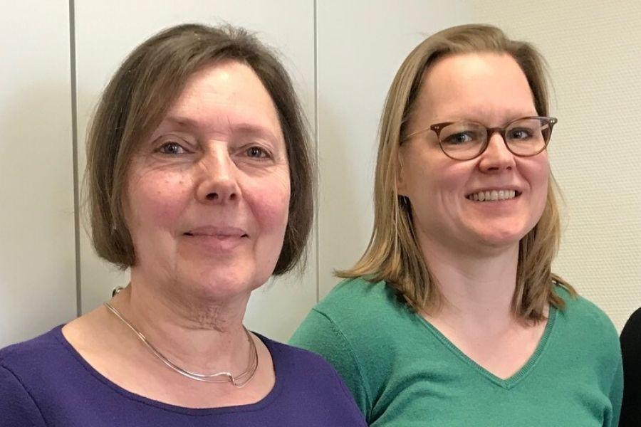 Resie Canter Visscher & Joyce van Erp preventiemedewerkers Mondriaan