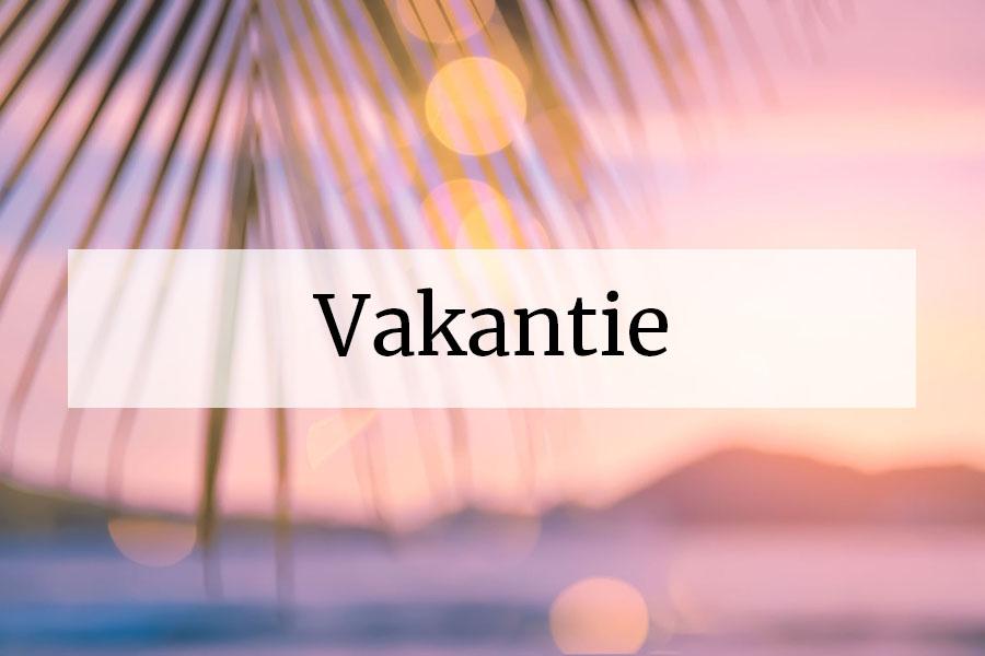 Themadossier Vakantie