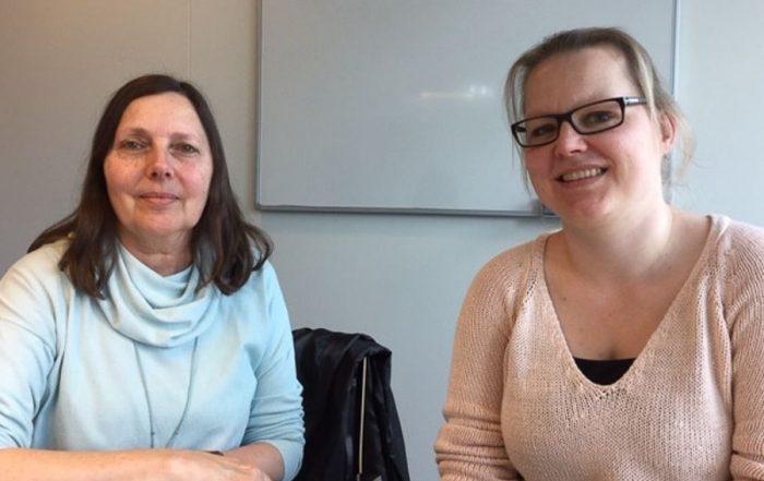 Resie Canter Visscher & Joyce van Erp preventiewerkers KOPP/KOV