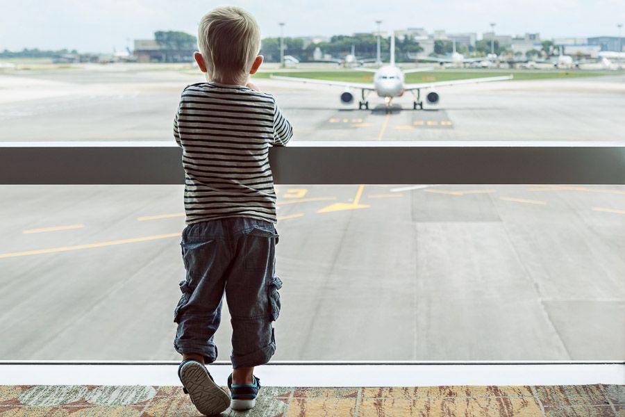tips vliegen kleine kinderen zonder stress