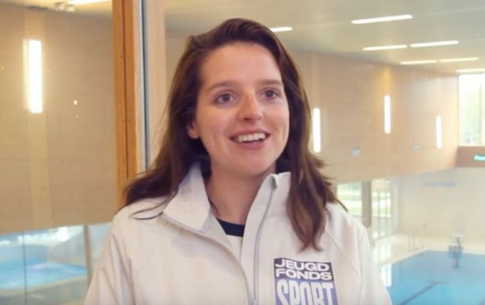 Chantal Mentink coördinator Jeugdfonds Sport Limburg