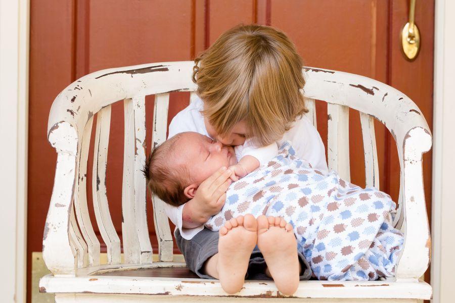 ideale leeftijdsverschil tussen je kinderen