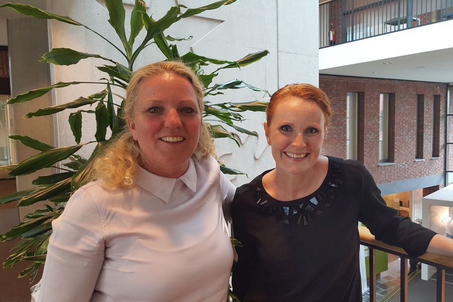 Lieke Dovermann & Simone Poell Kredietbank Limburg