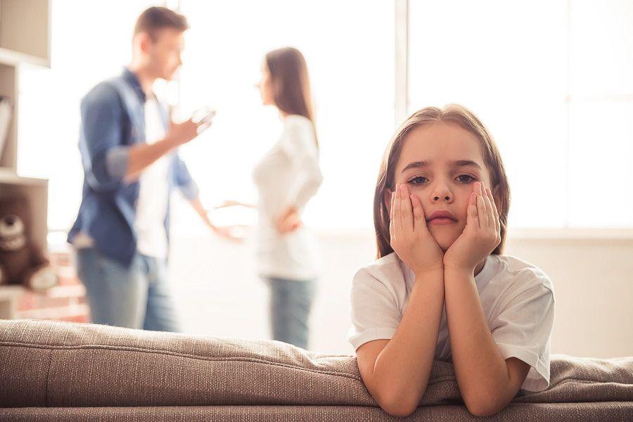 scheiden de effecten op kind