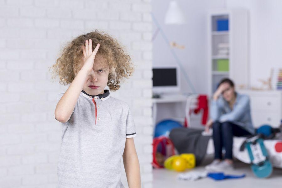 tips omgaan druk opstandig kind