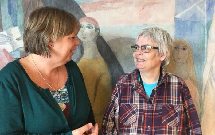 Mariëlla Bakker coördinator & Elly vrijwilligster Home-Start Maastricht