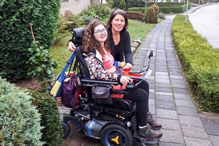 Meg & Kim opgroeien met handicap