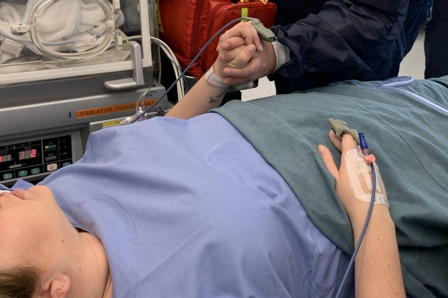 prematuriteit spoedsectio keizersnede operatiekamer