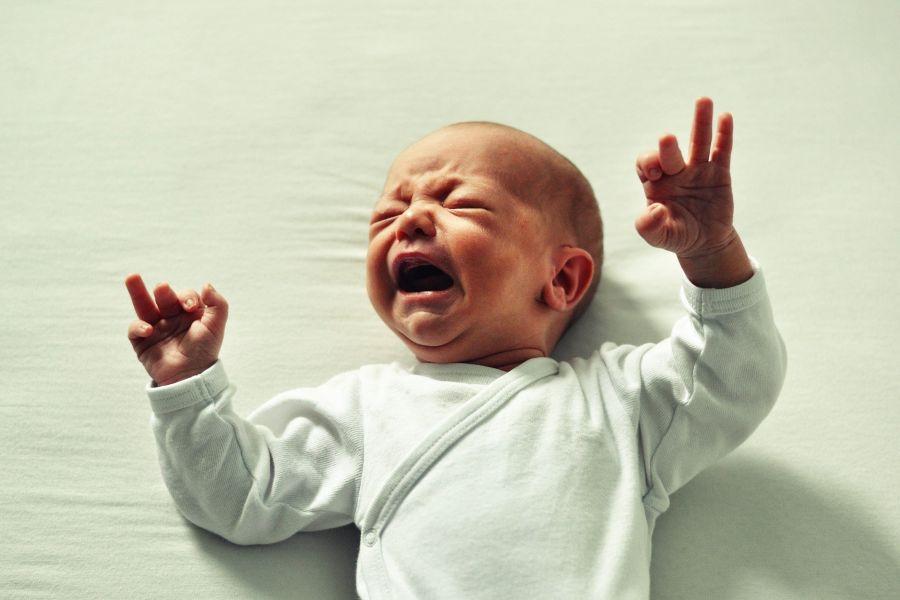 mijn baby huilt wat nu