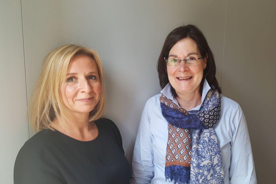 Esther Straat intern begeleider & Inge Pouw pedagoog trainer