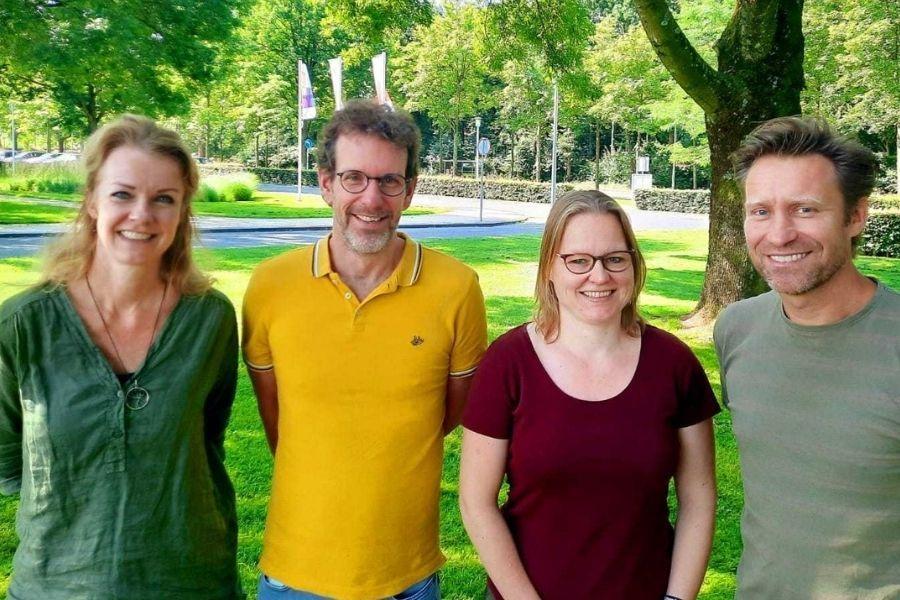 Stephanie Metternich, Mark Meijer, Joyce van Erp & Arthur Kleisterlee trainers Mondriaan Preventie
