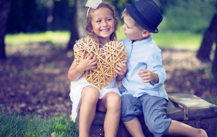 verliefdheid bij kinderen