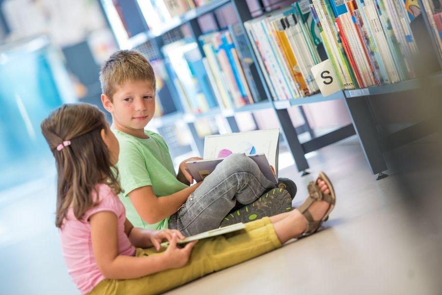 bibliotheek in school