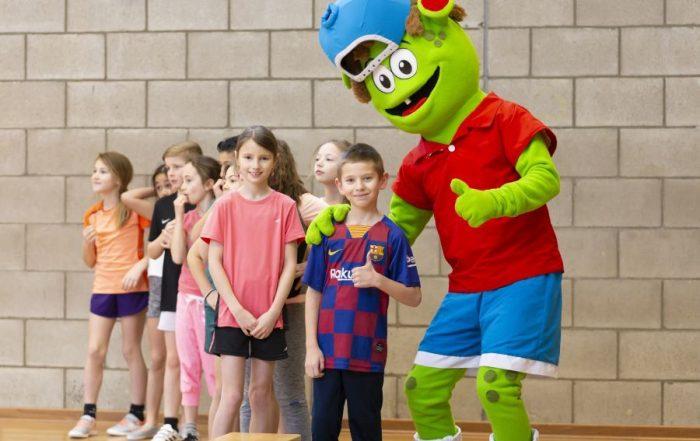 kinderen sporten Sjors Sportief